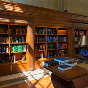 Books in Rose main reading room of New York Public Library