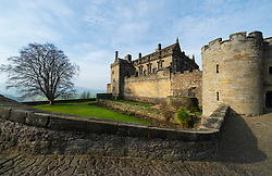 Stirling Castle in Stirling , Scotland, UK