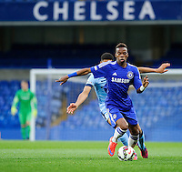 Chelsea's Charly Musonda in action during todays match  <br /> <br /> Photographer Ashley Western/CameraSport<br /> <br /> Football - The FA Youth Cup Second Leg - Chelsea U18's v Manchester City U18's - Monday 27th April 2015 - Stamford Bridge - London<br /> <br /> © CameraSport - 43 Linden Ave. Countesthorpe. Leicester. England. LE8 5PG - Tel: +44 (0) 116 277 4147 - admin@camerasport.com - www.camerasport.com