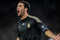 Reals Gonzalo Higuain erzielt das Tor zum 3:0 © Maria Schmid/EQ Images