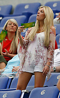 Photo: Glyn Thomas.<br /> England v Portugal. Quarter Finals, FIFA World Cup 2006. 01/07/2006.<br /> Toni Poole, fiancee of England's John Terry.