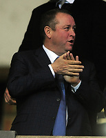 Football - 2019 / 2020 Emirates FA Cup - Fourth Round, Replay: Oxford United vs. Shrewsbury United<br /> <br /> Newcastle owner, Mike Ashley in the stands, at the Kassam Stadium (Grenoble Road).<br /> <br /> COLORSPORT/ANDREW COWIE