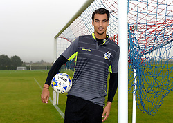 Kelle Roos poses at Bristol Rovers Training Ground after signing for Bristol Rovers - Mandatory by-line: Joe Meredith/JMP - 25/08/2016 - FOOTBALL - Bristol Rovers Training Ground - Bristol, England - Bristol Rovers New Signings