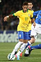 """Neymar Brasile.Ginevra 21/03/2013 Stadio """"De Geneve"""".Football Calcio Amichevole Internazionale.Brasile vs Italia / Brazil Vs Italy .Foto Insidefoto Paolo Nucci."""