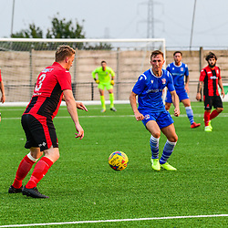 """Cirencester Town fc hosts Swindon Supermarine Cirencester town fc Hosts Swindon Supermarine fc in Supermarine second friendly of the new season. Despite coronavirus the game still went a head behind closed doors. A testing time for both teams and a time time to trial new signings. Final score Cirencester 1 Supermarine 6 Tonight Swindon Supermarine traveled away to take on Cirencester town Fc in their second friendly of the season. Previous game against Highworth town saw Zak Kotwica clinched a 87th minute goal behind closed doors.<br /> As Supermarine strengthened their squad over the summer break bringing in new signings to help again push towards top flight of the new season due to start in September.<br /> Cirencester town fc last season in great form and also a great contender for last seasons promotional push,  with Cirencester missing out on a few key signings for this season but other new hopefuls training in the background. The centurions will still relish the chance of a friendly to take on the marine side at home.<br /> The game started strong tonight from both sides but it was a unfortunate back head by Anson who managed to get past his own keeper. With some challenging play from both sides it was a hard midfield battle with long balls looking to break the play and it wasn't long before Martin Horsell saves a great ball in A few much needed water breaks brings in strong words from the centurions manager, with many substations being made and fresh legs on the pitch.<br /> As time continues into the late secound half it was just a matter of time for the pressure to build as the marine side starts slotting them home  Final score 1-6 to marine<br /> """"A great game from both sides, a good strong friendly game challenging times with new players a great chance to show their strength"""""""