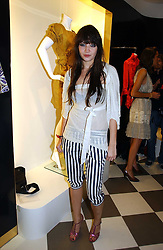 DAISY LOWE at a party to celebrate the opening of PPQ Mayfair at 47 Conduit Street, London W1 on 18th September 2006.<br />