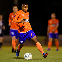 BRISBANE, AUSTRALIA - SEPTEMBER 7:  during the NPL Queensland Senior Mens Semi Final match between Lions FC and Olympic FC at AJ Kelly Park on September 7, 2019 in Brisbane, Australia. (Photo by Patrick Kearney)