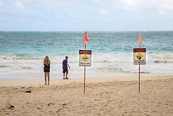 Warning Signs, Waimanalo Beach
