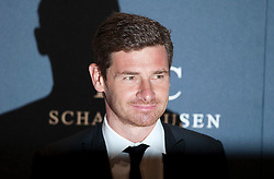 © Licensed to London News Pictures. 06/02/2012. London, UK. Andre Villas-Boas, Chelsea Football manager arriving on the red carpet for the Laureus World Sports Awards 2012. Dozens of sports and Hollywood celebrities arrived in the English capital to attend the event held at the Queen Elizabeth II Conference Centre in the same year that London will host the Olympic Games. Photo credit : Ben Cawthra/LNP