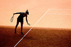 May 5, 2019 - Madrid, Spain - Polona Hercog (SLO) in her match against Sloane Stephens (USA) during day two of the Mutua Madrid Open at La Caja Magica in Madrid on 5th May, 2019. (Credit Image: © Juan Carlos Lucas/NurPhoto via ZUMA Press)