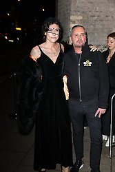 Kyle de Volle and Fat Tony arrive at the Late Fabulous Fund Fair at the Roundhouse in London during the Autumn/Winter 2019 London Fashion Week. PRESS ASSOCIATION. Picture date: Monday February 18, 2019. Photo credit should read: Isabel Infantes/PA Wire