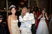 Anastasia Gorbachev, Petra Ecclestone and Bee Shaffer. Crillon 2004 Debutante Ball. Crillon Hotel. Paris. 26 November 2004. ONE TIME USE ONLY - DO NOT ARCHIVE  © Copyright Photograph by Dafydd Jones 66 Stockwell Park Rd. London SW9 0DA Tel 020 7733 0108 www.dafjones.com