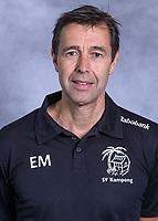 UTRECHT -  looptrainer Emiel Mellaard.  Kampong Heren I, seizoen 2021/2022.      COPYRIGHT KOEN SUYK