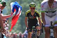 Adam Yates (GBR - Mitchelton - Scott) during the 105th Tour de France 2018, Stage 14, Saint-Paul-trois-Chateaux - Mende (188 km) on July 21th, 2018 - Photo Kei Tsuji / BettiniPhoto / ProSportsImages / DPPI