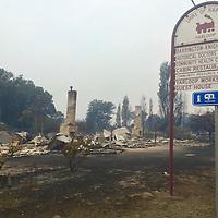 Yarloop - Fire Damage - 2016