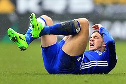 12th February 2017 - Premier League - Burnley v Chelsea - Eden Hazard of Chelsea looks dejected - Photo: Simon Stacpoole / Offside.