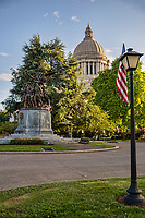 Winged Victory Monument & State Capitol