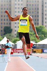 Samsung Diamond League adidas Grand Prix track & field; men's long jump, George Kitchens, USA,