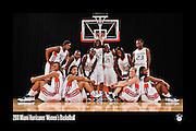 2011 Miami Hurricanes Women's Basketball Team Photo