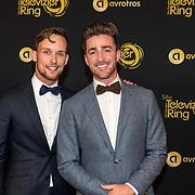 NLD/Amsterdam/20191009 - Uitreiking Gouden Televizier Ring Gala 2019, Hugo Kennis en .........
