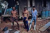 Logging Workers Migrants Deforestation Sarawak