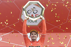 March 2, 2019 - Dubai, Emirati Arabi Uniti, Emirati Arabi Uniti - Foto LaPresse - Fabio Ferrari.02 Marzo 2019 Dubai (Emirati Arabi Uniti).Sport Ciclismo.UAE Tour 2019 - Tappa 7 - da Dubai Safari Park a City Walk - 145 km.Nella foto:  ROGLIC Primoz(SLO)TEAM JUMBO - VISMA vincitore UAE Tour..Photo LaPresse - Fabio Ferrari.March 02, 2019 Dubai (United Arab Emirates) .Sport Cycling.UAE Tour 2019 - Stage 7 - From Dubai Safari Park to City Walk  - 90 miles..In the pic:  ROGLIC Primoz(SLO)TEAM JUMBO - VISMA winner of tour (Credit Image: © Fabio Ferrari/Lapresse via ZUMA Press)