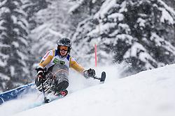 Meijer Floris of Nederlands during Slalom race at 2019 World Para Alpine Skiing Championship, on January 23, 2019 in Kranjska Gora, Slovenia. Photo by Matic Ritonja / Sportida