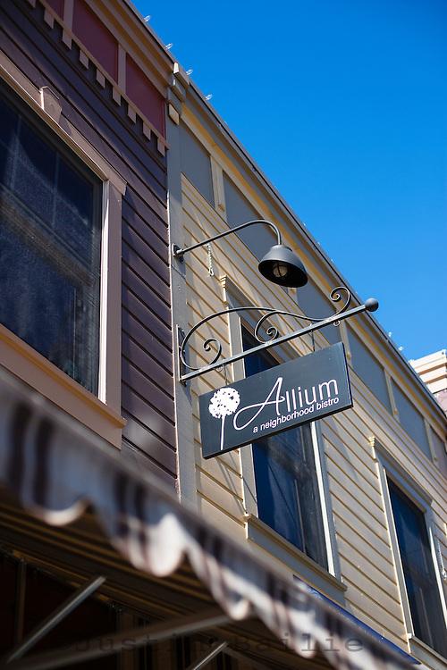 Allium Bistro in West Lynn, Oregon.