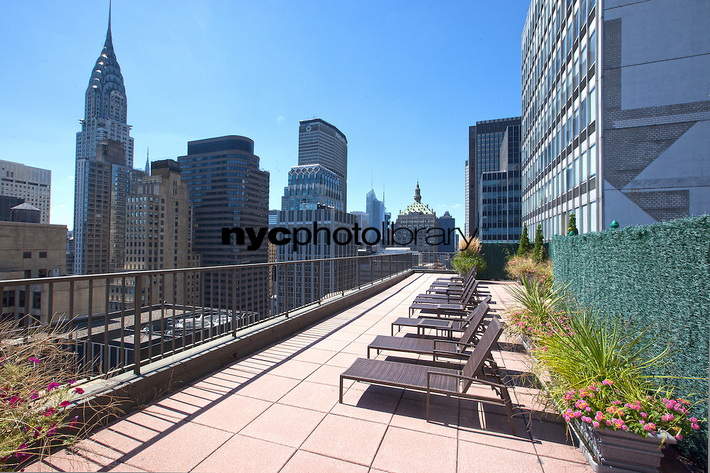 Roof Deck at 212 East 47th Street