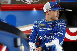 November 18, 2017 - Homestead, Florida, United States of America - November 18, 2017 - Homestead, Florida, USA: Kyle Larson (42) hangs out in the garage prior to practice for Ford EcoBoost 400 at Homestead-Miami Speedway in Homestead, Florida. (Credit Image: © Justin R. Noe Asp Inc/ASP via ZUMA Wire)