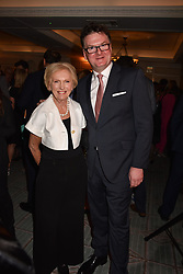 Ewan Venters and Mary Berry at the Fortnum & Mason Food and Drink Awards, Fortnum & Mason Food and Drink Awards, London, England. 10 May 2018.