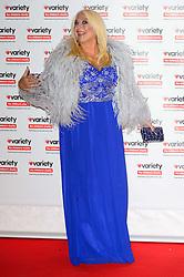 October 18, 2016 - London, London, UK - VANESSA FELTZ attends the Variety Showbiz Awards at the Hilton Park Lane Hotel. London, UK. (Credit Image: © Ray Tang/London News Pictures via ZUMA Wire)