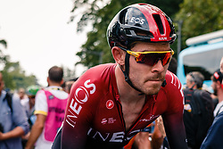 Luke Rowe (GBR) of Team Ineos (GBR,WT,Pinarello) after stage 1 from Bruxelles to Brussel of the 106th Tour de France, 6 July 2019. Photo by Pim Nijland / PelotonPhotos.com | All photos usage must carry mandatory copyright credit (Peloton Photos | Pim Nijland)