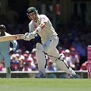 Shane Watson batting during the Australia V Pakistan 2nd Cricket Test match at the Sydney Cricket Ground, Sydney, Australia, 5 January 2010. Photo Tim Clayton