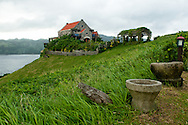Philippines, Batanes. Fundacion Pacita - beautiful typical old house of a famous Filipino painter and the best hotel on Batanes.