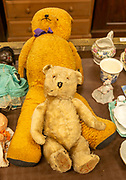 Two vintage teddy bears for sale at auction