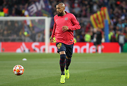 May 1, 2019 - Barcelona, Barcelona, Spain - Arturo Vidal of Barcelona in action before UEFA Champions League football match, between Barcelona and Liverpool, Mayl 01th, in Camp Nou stadium in Barcelona, Spain. (Credit Image: © AFP7 via ZUMA Wire)
