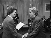 1989 - Grainne Kenny, Irish Laureate,Women Of Europe Award.  (T10).