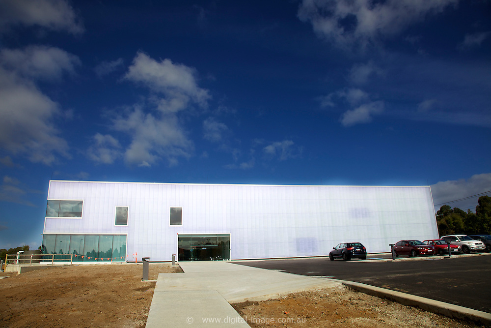 Exterior view of the NCSS  national Centre for Synchrotron Science