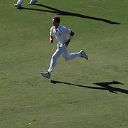 South African bowler Dale Steyn in action during day three of the third test match between Australia and South Africa at the Sydney Cricket Ground on January 5, 2009 in Sydney, Australia. Photo Tim Clayton