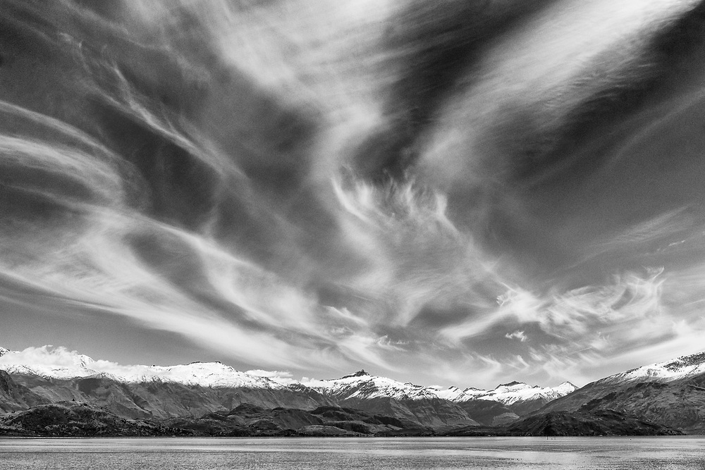 Wanaka - Beacon Point<br /> <br /> Print options:<br /> <br /> PRINT<br /> A4 - $95 (with white matt)<br /> A3 - $165 <br /> A2 - $235<br /> <br /> FRAMED PRINT<br /> A4 - $225<br /> A3 - $340<br /> A2 - $480<br /> <br /> Contact Alan to order through the contact tab above, or at info@alansquires.co.nz<br /> <br /> N.B.<br /> All prints are signed and numbered.<br /> P&P - free within Whangarei District.<br /> The wood frames come in black or white.<br /> All standard prints are made on canon luster (240gsm) paper.<br /> For B&W prints Alan recommends a fine textured cotton rag paper.