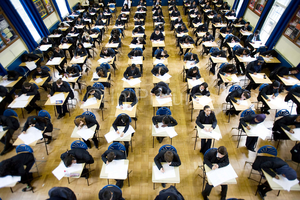 School children undertaking exams at Burlington Danes Academy, a Church of England school which has been educating London's children for over 300 years. A co-educational secondary school within the English academy programme, located in White City, London Originally two separate schools, Burlington School for Girls and St Clement Danes, founded. Both schools were originally situated in Westminster. The school is funded by the Department for Children, Schools and Families but is operated by ARK Academies, a registered charity and sponsored by parent charity Absolute Return for Kids (ARK).