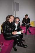 PAULINE AMOS; TIM SPICER; KSENIA TCHOUBAROZA, Serpentine Gallery and Harrods host the Future Contempories Party 2016. Serpentine Sackler Gallery. London. 20 February 2016