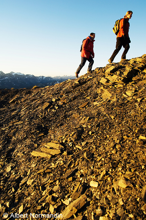 Hiking in the Rocky Mountains, British Columbia, Canada