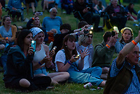 People Picnic at the Lake Stage and Wild Swimming  at the Also Festival 2021 at Compton Verney. Featuring Talks, Comedy, Music, Wild Swimming and much more. An excellent festival that offers so much .photo by Mark anton Smith