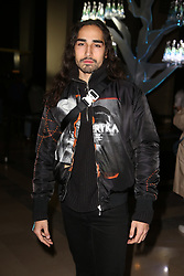 "Willy Cartier attends the launch of Evian and Virgil Abloh's limited-edition ""One Drop can make a Rainbow"" collection at Théâtre National de Chaillot in Paris, France on February 25, 2019. Photo by Jerome Domine/ABACAPRESS.COM"