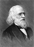 Isaac Lea (1792-1886) American publisher, geologist and conchologist. [1896]. President Academy of Natural Sciences, Philadelphia, 1858-1863.  (New York, 1896). Engraving