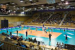 26-11-2015 SLO: Champions League Calcit Ljubljana - VakifBank Istanbul, Ljubljana<br /> View on field Hala Tivoli<br /> <br /> ***NETHERLANDS ONLY***