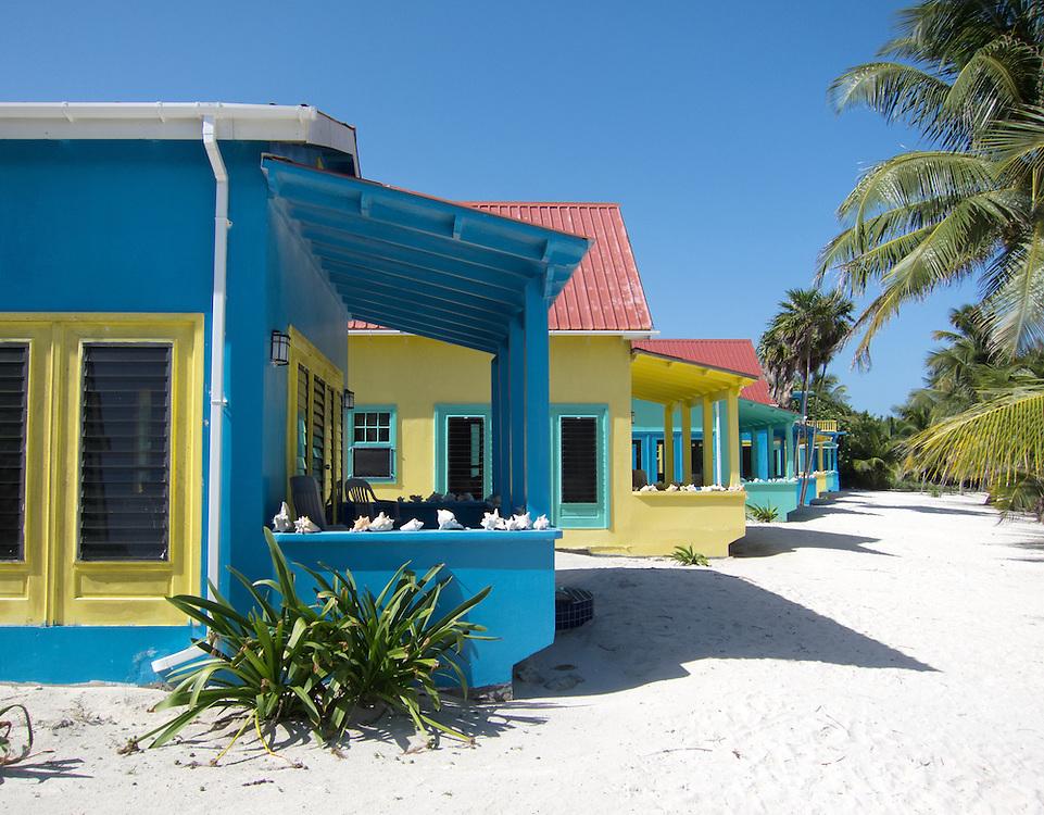 Ambergris Caye, Belize 8/31/2012.Beachfront cabanas at Tranquility Bay..Alex Jones / www.alexjonesphoto.com