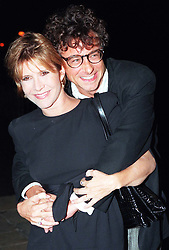 File photo dated 11/10/95 of Carrie Fisher with author Alan Jenkins as they arrive for the re-launch of the Star wars Trilogy at Alexandra Palace, as the actress has died at age 60, her daughter's publicist said.